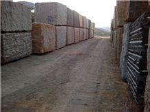 Giallo Vitoria Granite Blocks, Yellow Granite Blocks Brazil