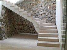 Untersberger Hell Limestone Stairs