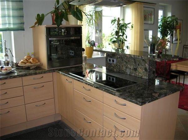 Verde Marinace Granite Countertop From Austria 249310