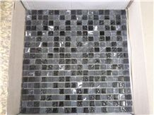 Mosaic in Marble and Glass, or Glass Marble Mosaic