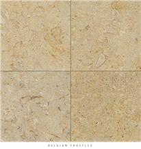 Belgian Truffles Limestone Honed - Brushed Tiles