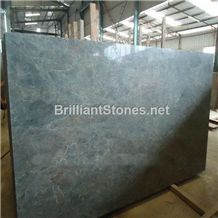 China Sea Wave Green,Multicolor Green Granite Slabs & Tiles