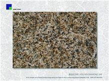 Golden Diamond 3# B Slabs & Tiles, China Brown Granite