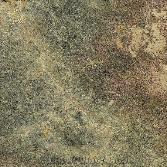 Olive Green And Grey Stone Marble Slabs Tiles From Italy