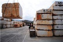 Ajloun Royal Beige Limestone Blocks