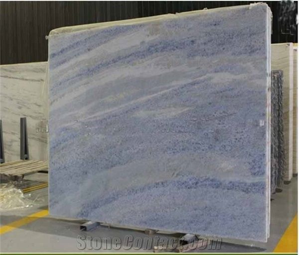 Crystal Tropical Blue Marble Slabs Brazil Blue Marble