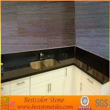 Black Stone Countertops for Kitchen, Absolute Black Granite Work Tops
