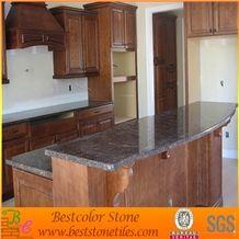 Red Granite Stone Kitchen Island Tops, Red Granite Kitchen Design