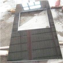 Hebei Black Granite Limestone Slabs & Tiles, China Black Limestone
