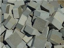 Azul Pirineo Sandstone Cobble Stone