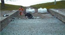 Azul Pirineo Sandstone Pavement