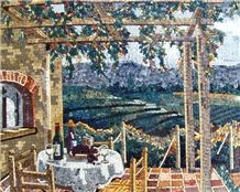 Italian Village Natural View Mosaic Tile