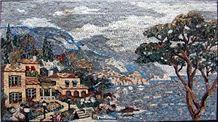 Natural Scene Stone Mosaic