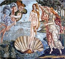 Venus Of Botticelli Mosaic