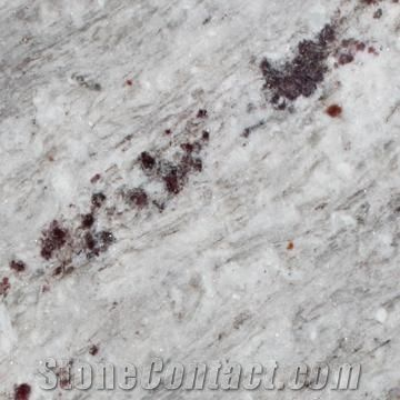 Polished Osprey Slabs Tiles India White Granite From