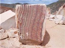 Rojo Vulkano Onyx Blocks, Mexico Red Onyx
