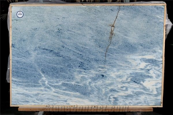 Ocean Blue Marble Slab Argentina Blue Marble From China