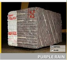 Purple Rain Granite Blocks, Brazil Brown Granite