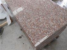 G687 Pink Granite Slabs & Tiles, China Red Granite