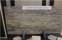 Golden Grey Blue Marble Slabs, Turkey Grey Marble