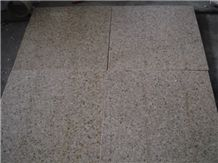 G682 Granite Polished Flamed Tiles,Slab