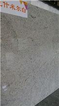 Polished Kashmir White Granite Slabs & Tiles, Brazil White Granite