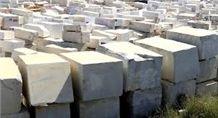 Branco Estremoz Marble Stone Blocks