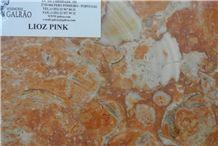 Lioz Pink Limestone Tiles, Slabs