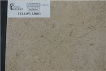 Yellow Lirio Limestone Tiles, Slabs