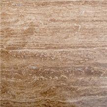 Peru Walnut Travertine Honed & Filled Tiles 12