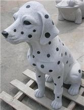 Dog Stone Animal Sculptures,Dog Stone Carving,Dog Stone Statue