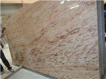 Ivory Brown Granite Slabs & Tiles