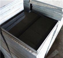 China Black Granite Tiles, Shanxi Black Granite