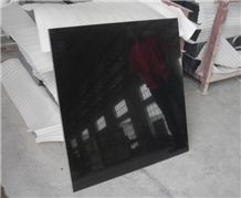 China Nero Assoluto Granite Tiles Polished Finish