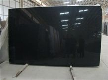 Discount Price Absolute Black Granite Polished Slabs, Shanxi Black , Absolute Black , Nero Assoluto Granite Slabs & Tiles