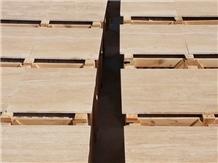 Denizli Light Beige Travertine Tiles & Slabs, Polished Floor Tiles, Wall Tiles