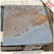 Slate Tiles, Slate Floor Tile on Sale, Multicolor Slate Tiles