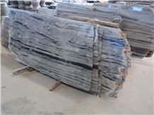 Huaan Jade Black and Grey Onyx Slabs