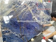Natural Namib Sodalite Blue Slab