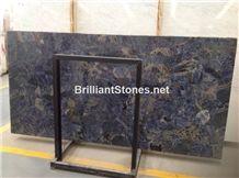 Sodalite Blue Semiprecious Stone Slabs