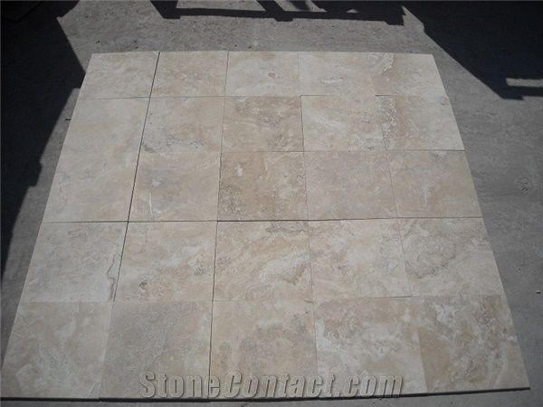 Durango Paredon Travertine Honed Filled Bevelled Edge