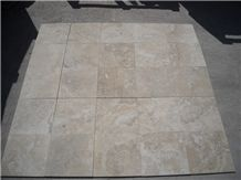 Durango Paredon Travertine Honed/Filled/Bevelled Edge Tiles, Mexico Beige Travertine on Sale