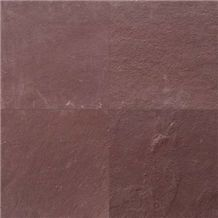 Chocolate Sandstone Slabs & Tiles, India Brown Sandstone