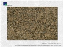 Golden Diamond Granite 2# Slabs & Tiles, China Brown Granite