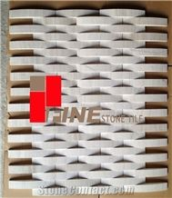 Wood Vein Grains Marble Mosaic, Tile, Slab