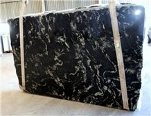 Blue Night Granite Slabs, Brazil Blue Granite