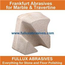 Magnesite Frankfurt Abrasive Stone for Marble