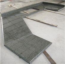 Prefab New Tunas Green Countertops, Oriental Green Granite Kitchen Countertops