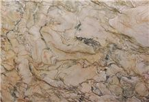 Fascination Quartzite Slabs, Brazil Yellow Quartzite