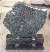 Monument in Butterfly Blue Granite